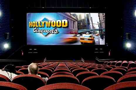 Hollywood Cinema - Hollywood Cinema Tickets With Popcorn and Drink For Two - Save 50%