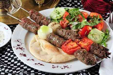 Cheminee Persian Restaurant - Three Courses For Two With Tea - Save 56%
