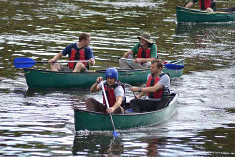 Way2Go Adventures - Half Day Wye Valley Canoe Trip for Two People - Save 65%