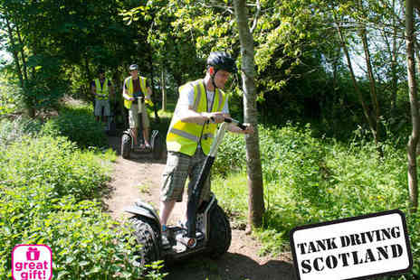 Tank Driving Scotland - Segway Off Road Experience for One - Save 60%