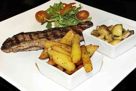 Yonkers New York Steak and Fish Bar - Two Course American Meal With Wine and Coffee - Save 51%
