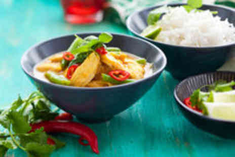 Bangkok Bar & Restaurant - Tantalising Thai Food with a Glass of Wine for Two - Save 43%