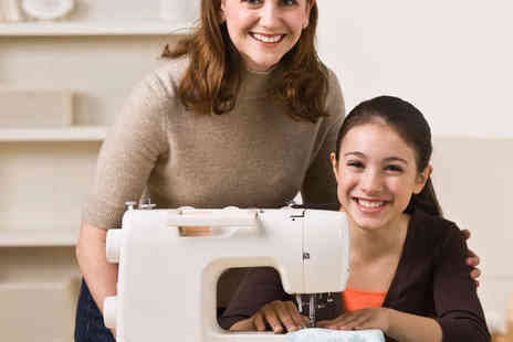 The Creative Sewing Studio - Three Hour Sewing Machine Basics or Sewing Techniques Course - Save 62%
