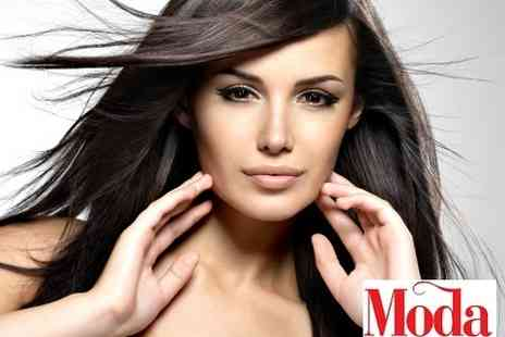 Moda Hair Huddersfield - Cut blow dry colour and straightening - Save 50%