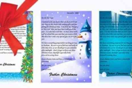 Personalisedsantaletter.co.uk - Three Personalised Santa Letters With Extras - Save 70%