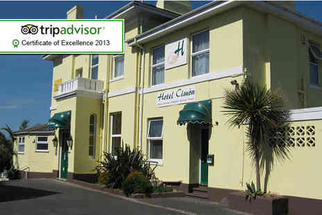 The Cimon - Two night stay for 2 people in a seaview room including breakfast - Save 47%