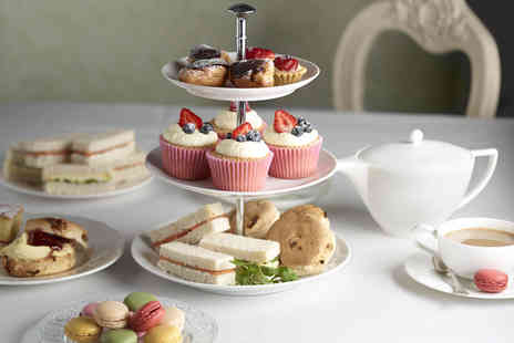 Mercure Goldthorn Hotel - Afternoon tea for 2 includsing sandwiches scones & glass of wine - Save 58%