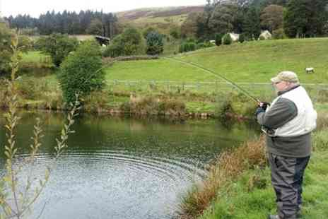 Gweryd Lakes Fishing - Half Day Fly Fishing Coaching For One - Save 50%
