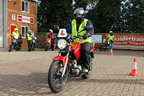 Rider Training - Motorcycle CBT Course With Bike Hire and Theory Test - Save 51%