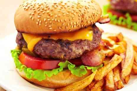 Cactus Grill Bar Restaurant - Burger and Chips For Two - Save 60%