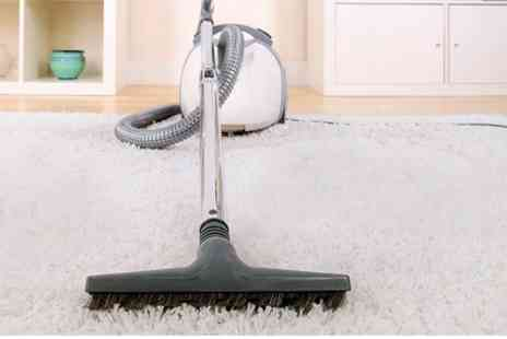 Fast Clean Services - Carpet Cleaning For Two Rooms - Save 65%