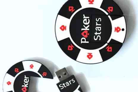 Londeal UK - Poker Stars Poker Chip 8GB USB Flash Drive - Save 71%