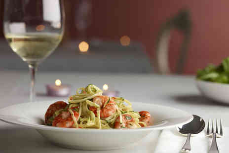 Nicolas Ristorante - Two course Italian meal for 2 including a glass of wine - Save 59%
