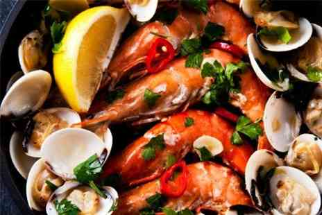 The Old Passage - Seafood and Lobster Platter With Prosecco For Two - Save 55%