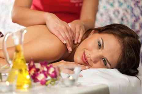 Dorthe Thomas Spa - Aromatherapy Massage Facial and Manicure - Save 64%