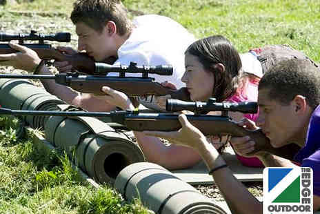 The Edge Outdoor - Air Rifle and Archery Experience - Save 60%