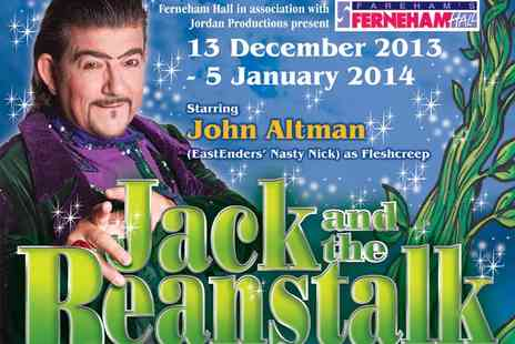Fernham Hall - Half Price Magic and Mayhem Tickets for Jack and the Beanstalk - Save 50%