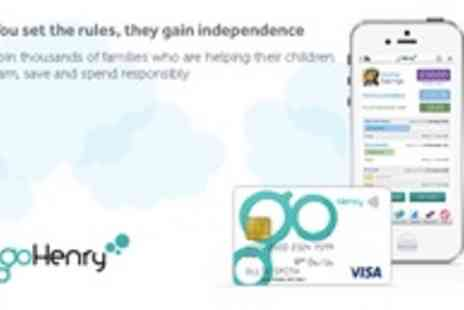 goHenry - A cash card designed for children with parental controls. - Save 52%