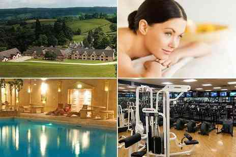 Cwrt Bleddyn Hotel - Luxury spa day for two - Save 50%