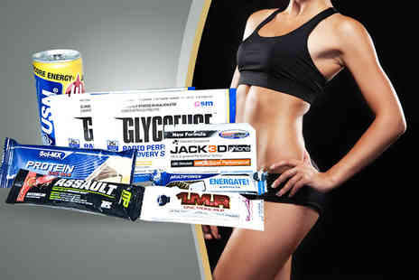 MusclePack - Monthly supplement sample box including 6 8 different supplements - Save 59%