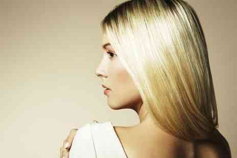 Hair By Ide - Hair treatment package including a full head of highlights with a wash cut blow dry and conditioning treatment - Save 72%