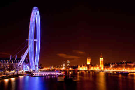 London By Night - Child ticket on a night bus tour of London - Save 60%