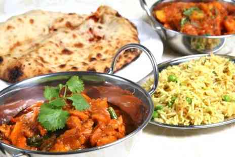 The Red Veil - Two Course Indian Meal or Takeaway - Save 65%