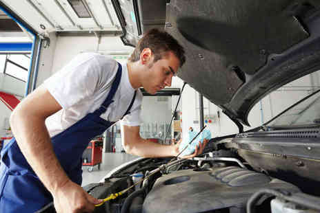 A and M Nottingham - 40 Minute MOT Test for a Car or Light Van or Hour Long Air Conditioner Service - Save 62%