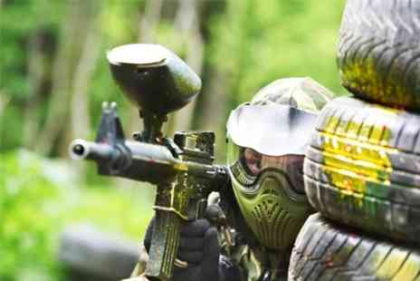 A K Paintball - Paintballing With Lunch and Balls For Five - Save 94%