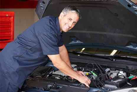 Nistecuk - Car Service 54 Point Check With Oil Change and Mini Valet - Save 79%