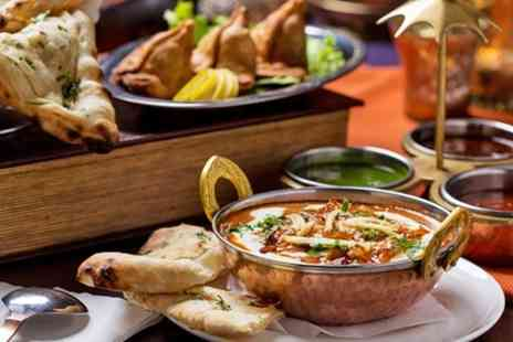 Red Spice - Indian Meal For Two With Starter Main and Side - Save 66%