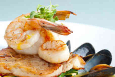 Larder Restaurant at The Hilton - Seafood Platter for Two with Prosecco or Champagne - Save 59%