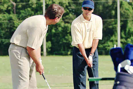 Gareth Graham Golf - One Hour Long Golf Lesson - Save 63%