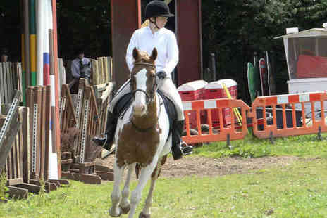 Friars Hill Riding Stables - Riding Lesson or Trek for Under 16 - Save 53%