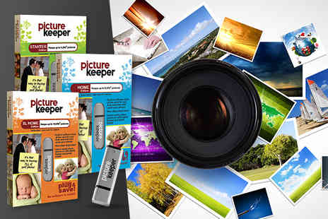 Simplified IT Products - Portable photo backup drive storing up to 16,000 photos - Save 48%
