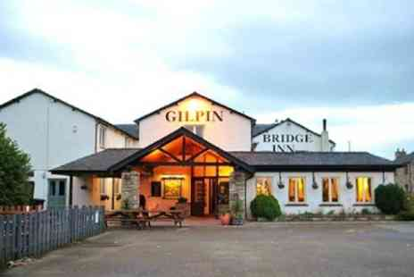 Gilpin Bridge Inn - One Nights For Two With Breakfast and Wine - Save 44%