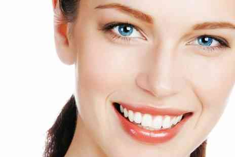 Aesthetika Dental Studio - Teeth Whitening With Airflow Clean - Save 77%