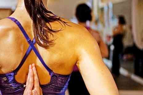Yoga Hub - Hot Yoga Eight Sessions - Save 74%