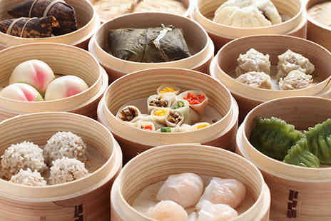 New China London - Six dim sum dishes to share between 2 people and a glass of wine - Save 71%
