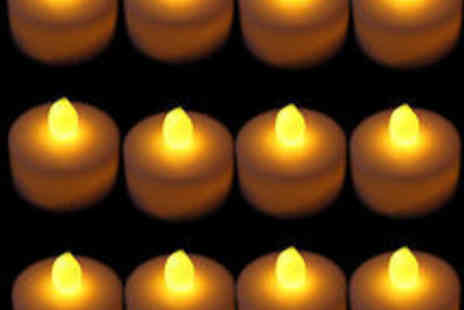 babz - 12 x LED Tea Light Candles - Save 60%