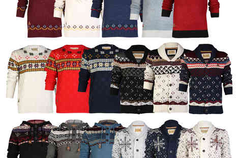reload-outlet - Mens Rock & Revival Chunky Knits - Save 73%