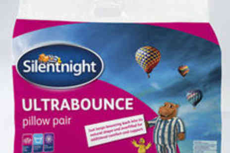 UK Bedding - Silentnight Ultrabounce Pillow Pack - Save 40%