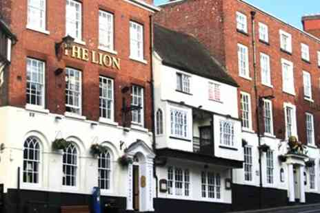 The Lion Hotel Shrewsbury - Three Course Dinner for 2  - Save 52%