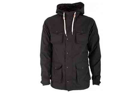 Raw Indigo - Mens Enzo Black Hooded Jacket - Save 58%