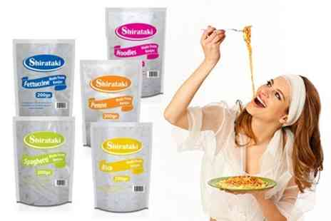 Mood Food Company - Shirataki Konjac Low Calorie Pasta 25 Packs- Save 61%
