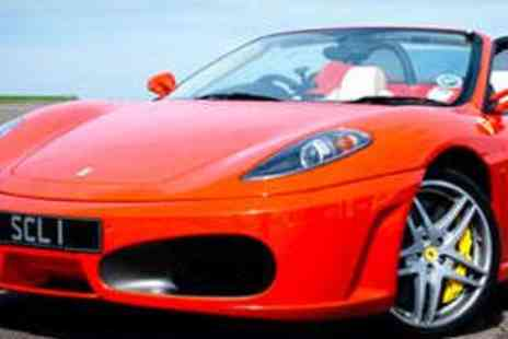 Supercar Lifestyle - Three Laps in Your Choice of Three Supercars - Save 66%