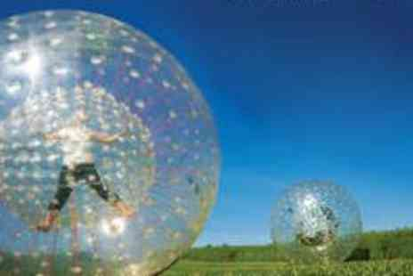 The Jungle - Zorbing and Half Day Paintballing - Save 51%