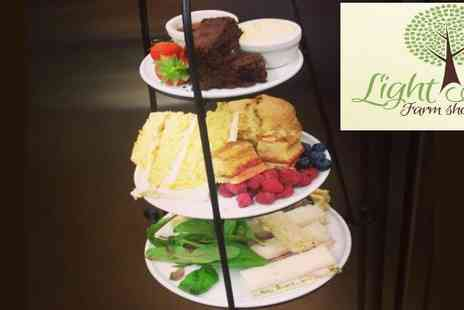 Light Ash Farm Shop - Afternoon tea for two - Save 50%