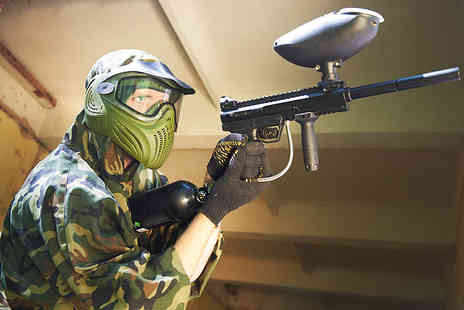 The Village Mansfield - One hour indoor paintballing experience including 200 balls with Bunker 57 - Save 70%