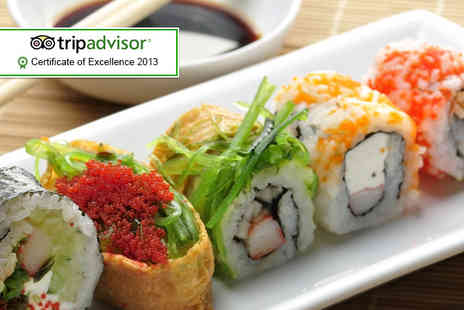 Bonsai Bar Bistro - Sushi for 2 people  - Save 60%